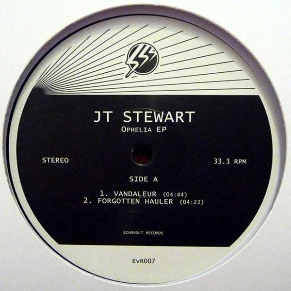 JT Stewart ‎– Ophelia EP  (Echovolt Records ‎007)