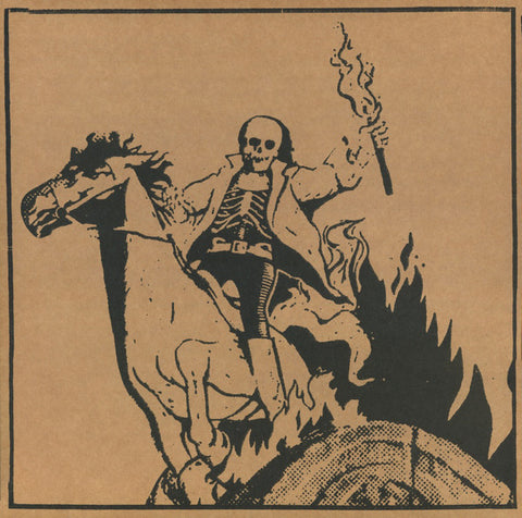 Aaron Dilloway ‎– Corpse On Horseback LP (Ergot Records 001)
