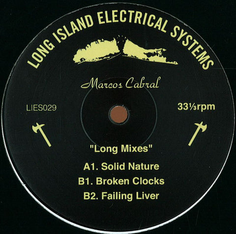 Marcos Cabral ‎– Long Mixes EP (LIES 029)
