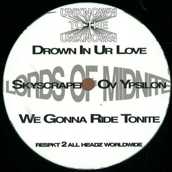 Lords Of Midnite ‎– Drown In Ur Love EP (Unknown To The Unknown ‎UTTULEGORAVE)