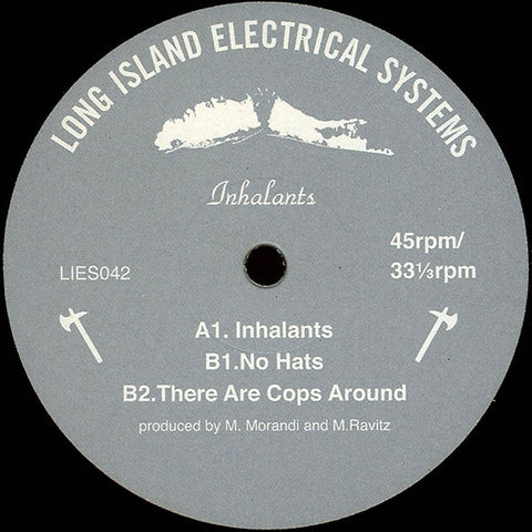 Inhalants ‎– Inhalants EP (LIES 047)
