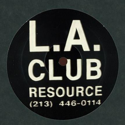 Delroy Edwards ‎– Kickin Butts!! (L.A. Club Resource 015)