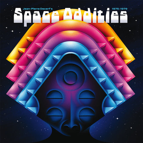 Jean-Pierre Decerf ‎– Space Oddities 1975 - 1979 (Born Bad Records ‎068)