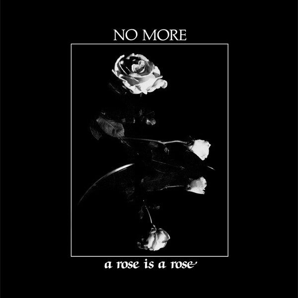"No More - A Rose Is A Rose LP+7"" (Dark Entries DE084)"