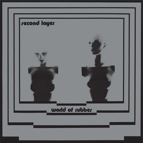 Second Layer ‎– World Of Rubber 2LP Deluxe (Dark Entries 096)