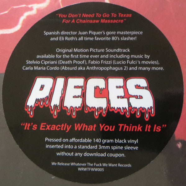 Various ‎– Pieces OST LP (WRWTFWW 005)