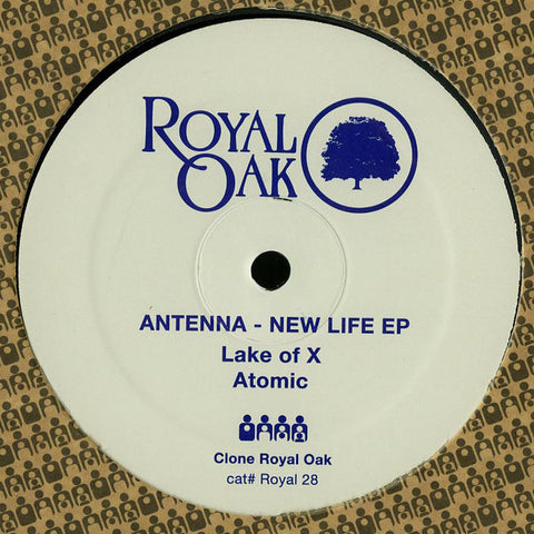 Antenna ‎– New Life EP (Royal Oak 28)