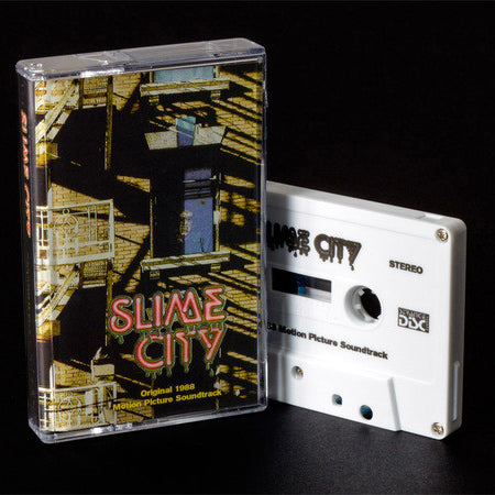 Robert Tomaro ‎– Slime City (1988 OST) CS (One Way Static ‎16)