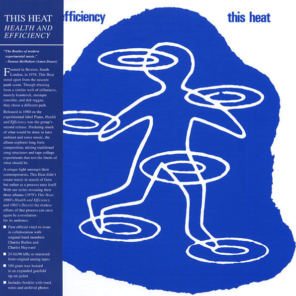 This Heat ‎– Health And Efficiency (Modern Classics Recordings ‎918)