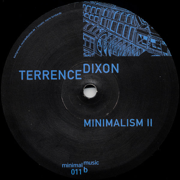 Terrence Dixon ‎– Minimalism II (Background 011)