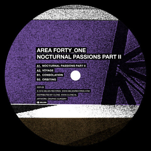 Area Forty_One ‎– Nocturnal Passions Part II (Delsin ‎– DSRE8)