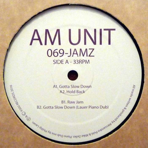 AM Unit ‎– 069-Jamz (9300 Records ‎004)
