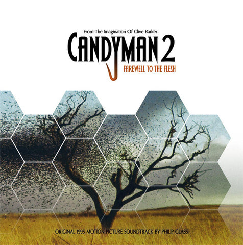 Philip Glass ‎– Candyman 2: Farewell To The Flesh LP Colored (One Way Static ‎10)