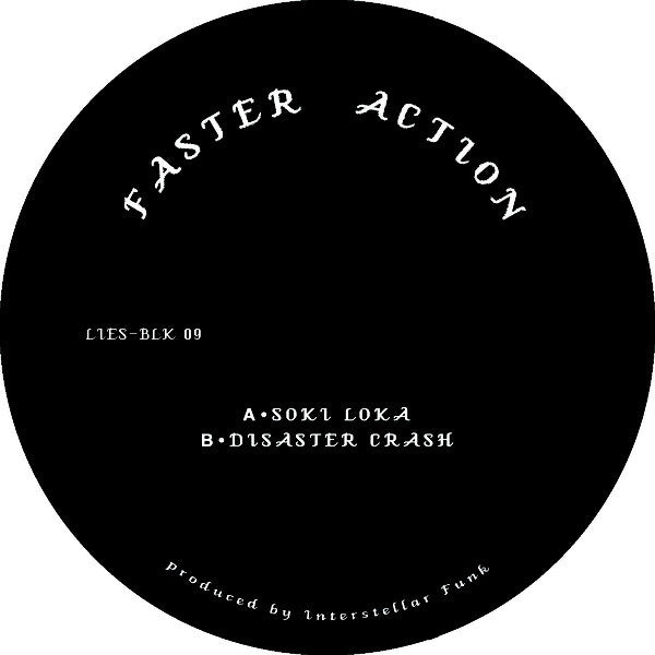 Faster Action ‎– Faster Action (LIES BLK 09)
