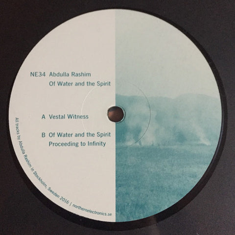 Abdulla Rashim ‎– Of Water And The Spirit  (Northern Electronics 34)