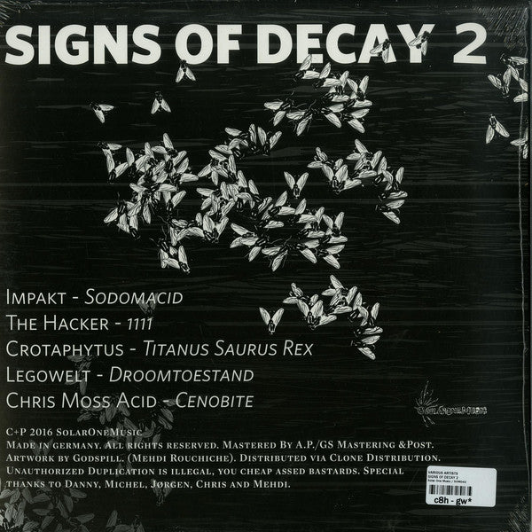 Various - Signs Of Decay 2 (Solar One Music 042)