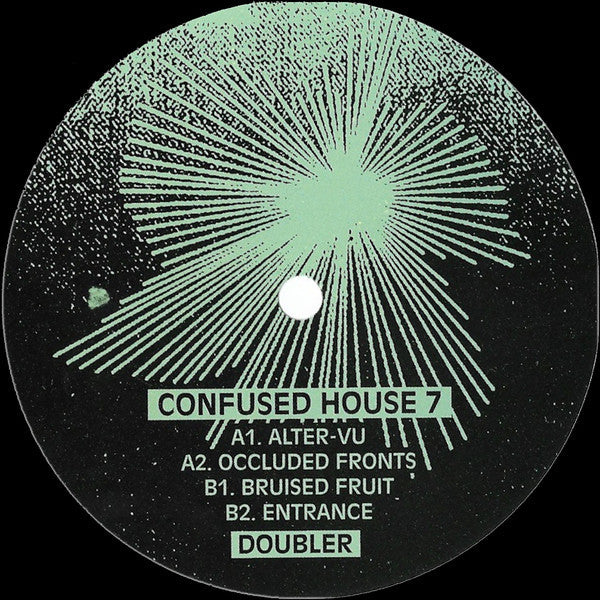 Doubler ‎– Alter-Vu (Confused House ‎007)