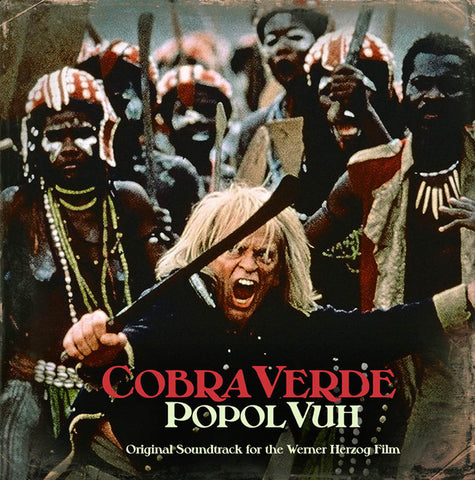 Popol Vuh ‎– Cobra Verde OST LP (One Way Static ‎16)