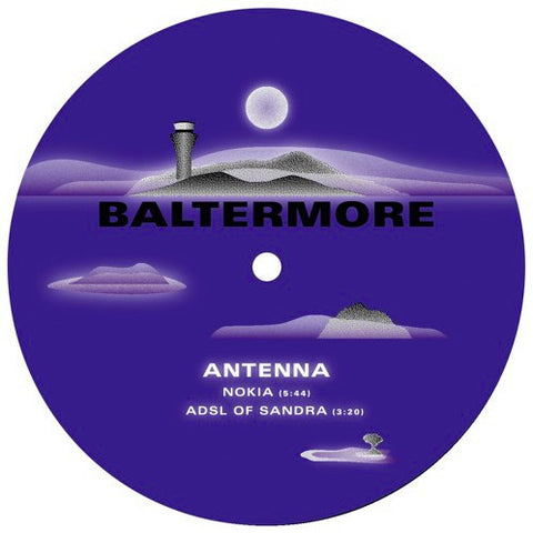 Antenna, Mark Du Mosch ‎– Nokia / Heights Machine (Baltermore ‎002)