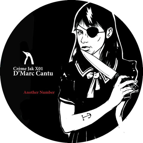 D'Marc Cantu - Another Number EP (Creme JAK X01)