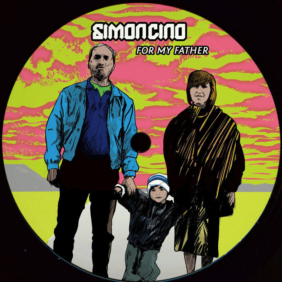 Simoncino - For My Father EP (Creme 12-70)