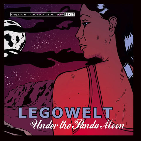 Legowelt - Under The Panda Moon (Original 2004, Blue Vinyl) (Creme 12-13)