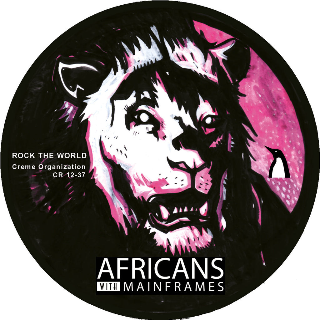 Africans With Mainframes ‎– Rock The World (Creme 12-37)