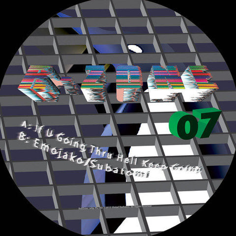 R-Zone 07 - If You Going Thru Hell Keep Going / Emojako / Subatomi