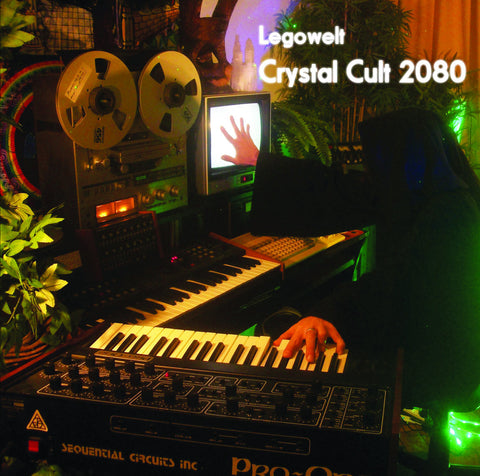 Legowelt - Crystal Cult 2080 - Digipack CD (Creme CD-10)