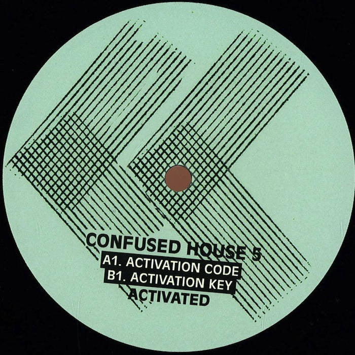 Activated ‎– Activation Key  (Confused House ‎005)