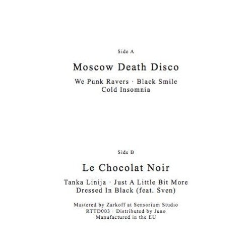 Moscow Death Disco / Le Chocolat Noir ‎– Untitled EP (Return To Disorder 003)