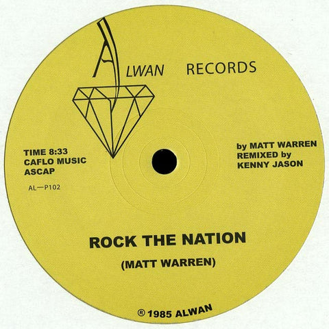Matt Warren ‎– Rock The Nation (Alwan Records)
