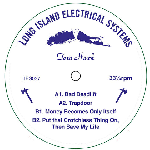 Torn Hawk ‎– Bad Deadlift EP (LIES 037)