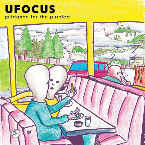 Ufocus - Guidance For The Puzzled 2LP (Nightwind Records NWR009)