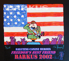 Krewe of Barkus Saluting Canine Heroes, Freedoms Best Friend -