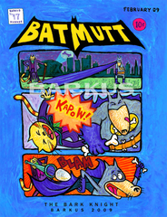 Krewe of Barkus Bat Mutt, The Bark Knight 2009 -