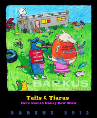 Krewe of Barkus Tails & Tiaras, Here Comes Honey Bow Wow 2013 -