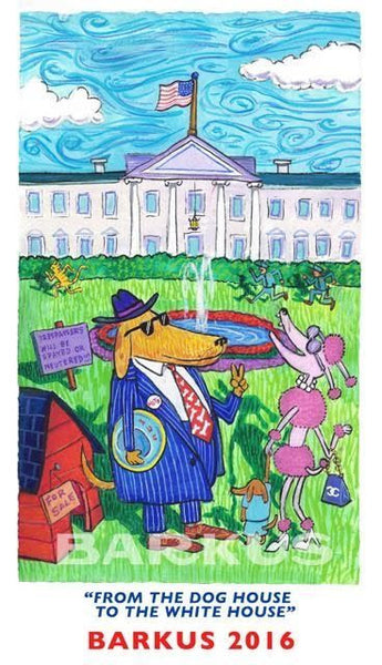 Krewe of  Barkus From The Dog House to the White House -