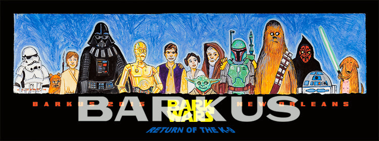 Barkus 2015 Poster Bark Wars: The Return of the K9