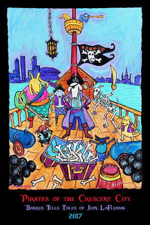 Pirates of the Crescent City: Barkus Tells Tales of Jean LaFleaBag 2017 Poster