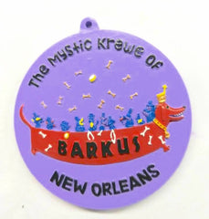 The Mystic Krewe of Barkus Medallion Bead