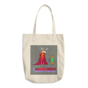 The Big Bark Theory: Barkus Goes to Comin Con Classic Tote