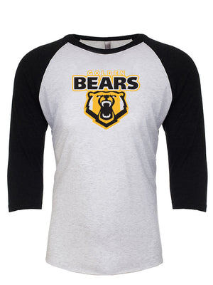Golden Bears - Adult 3/4 Sleeve