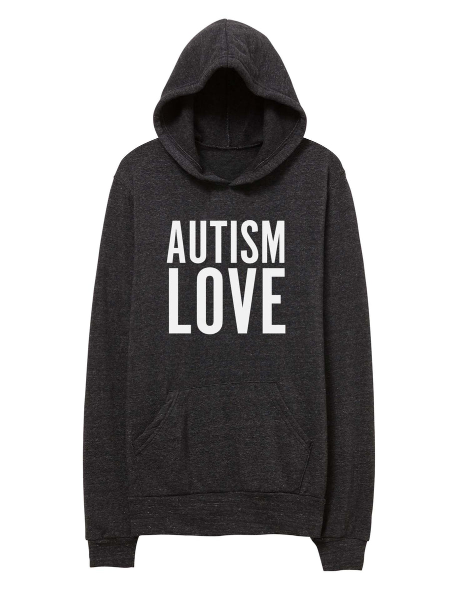 Copy of Autism Love - Unisex Hooded Sweatshirt
