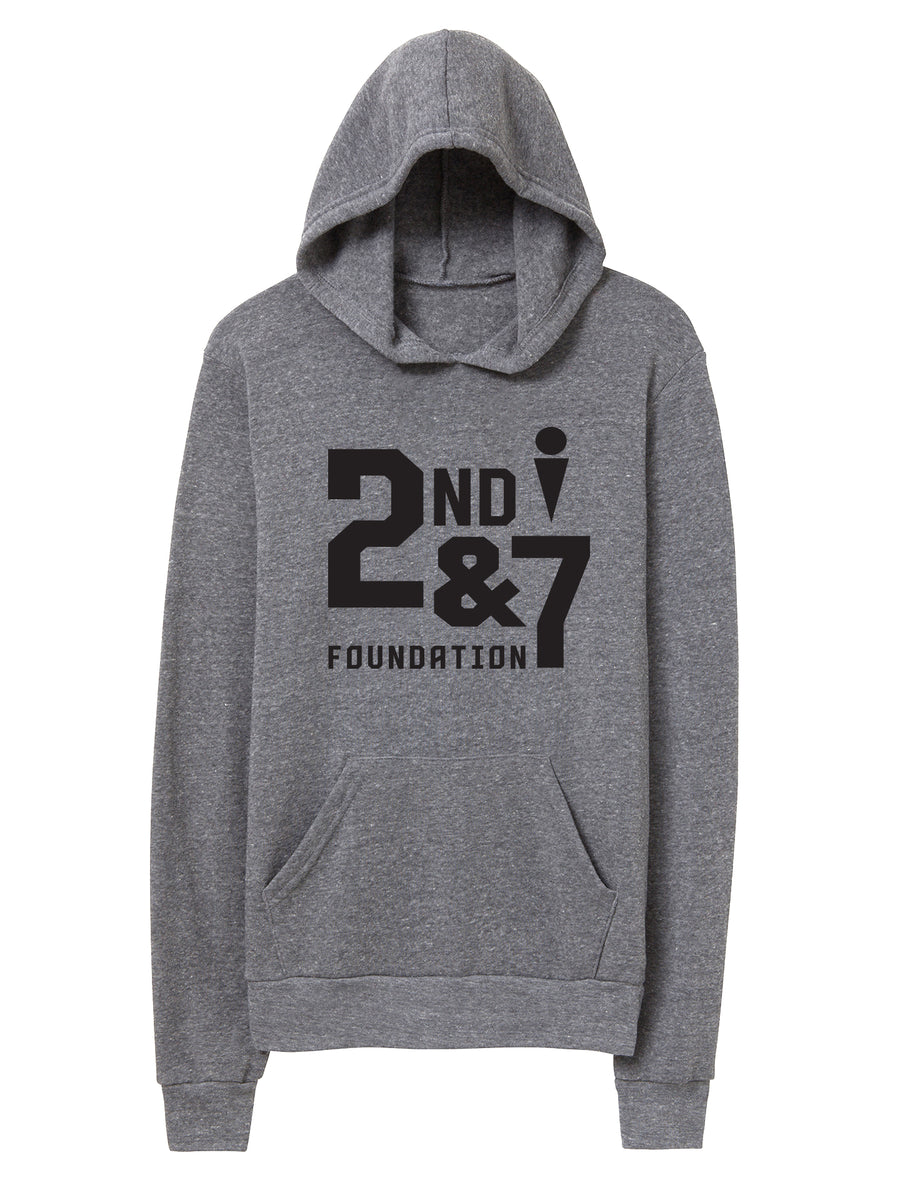 Second and Seven Foundation  - Unisex Hooded Sweater