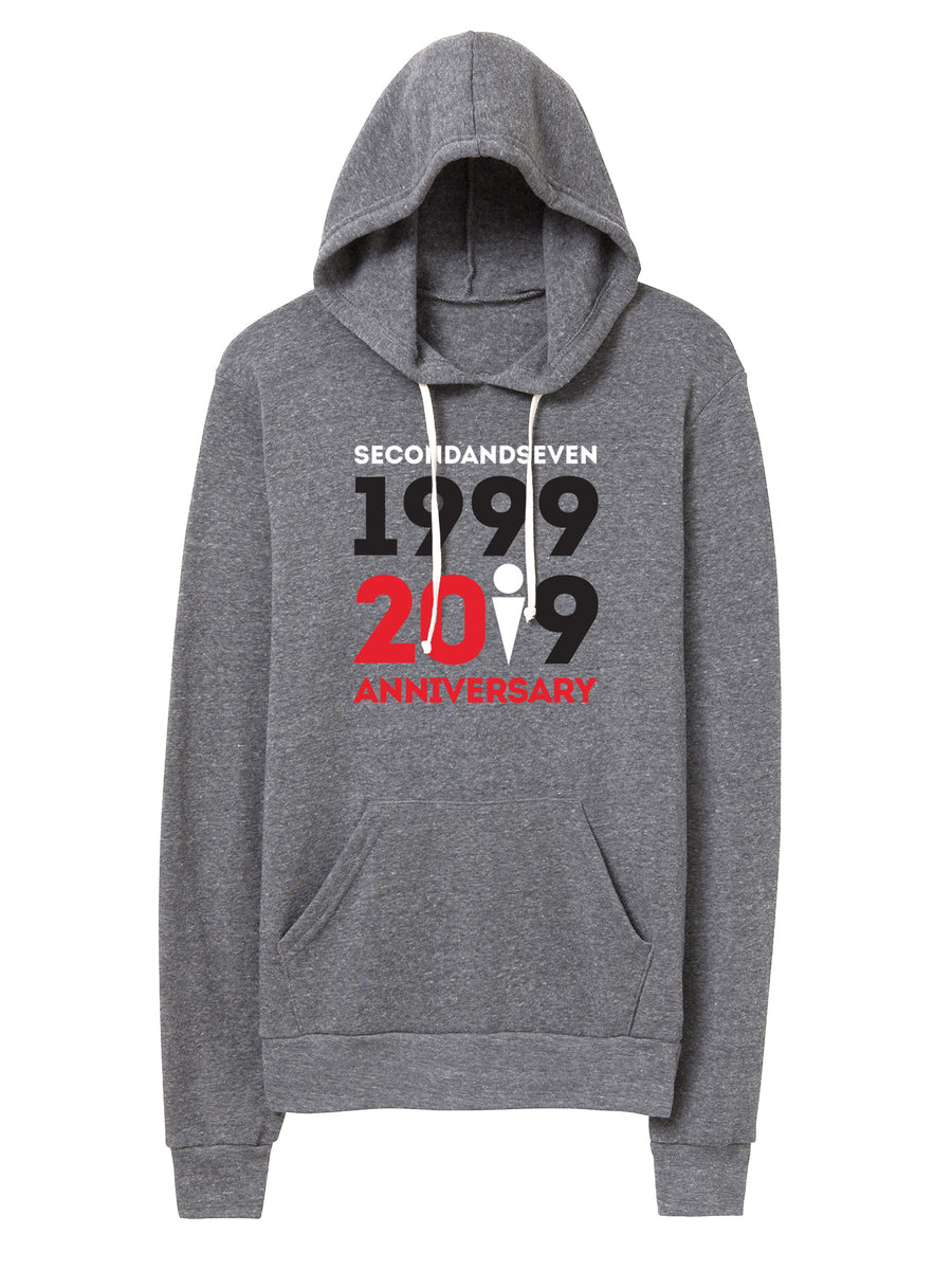 Second and Seven Anniversary - Unisex Hooded Sweater