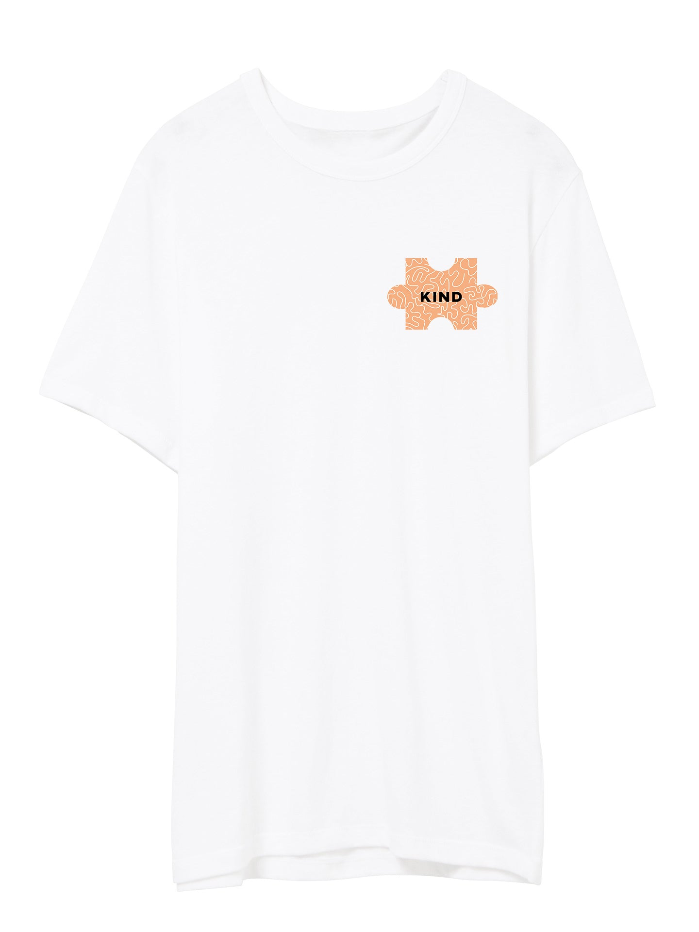 The Power of Words - Men's Tee - Puzzle Pieces - KIND