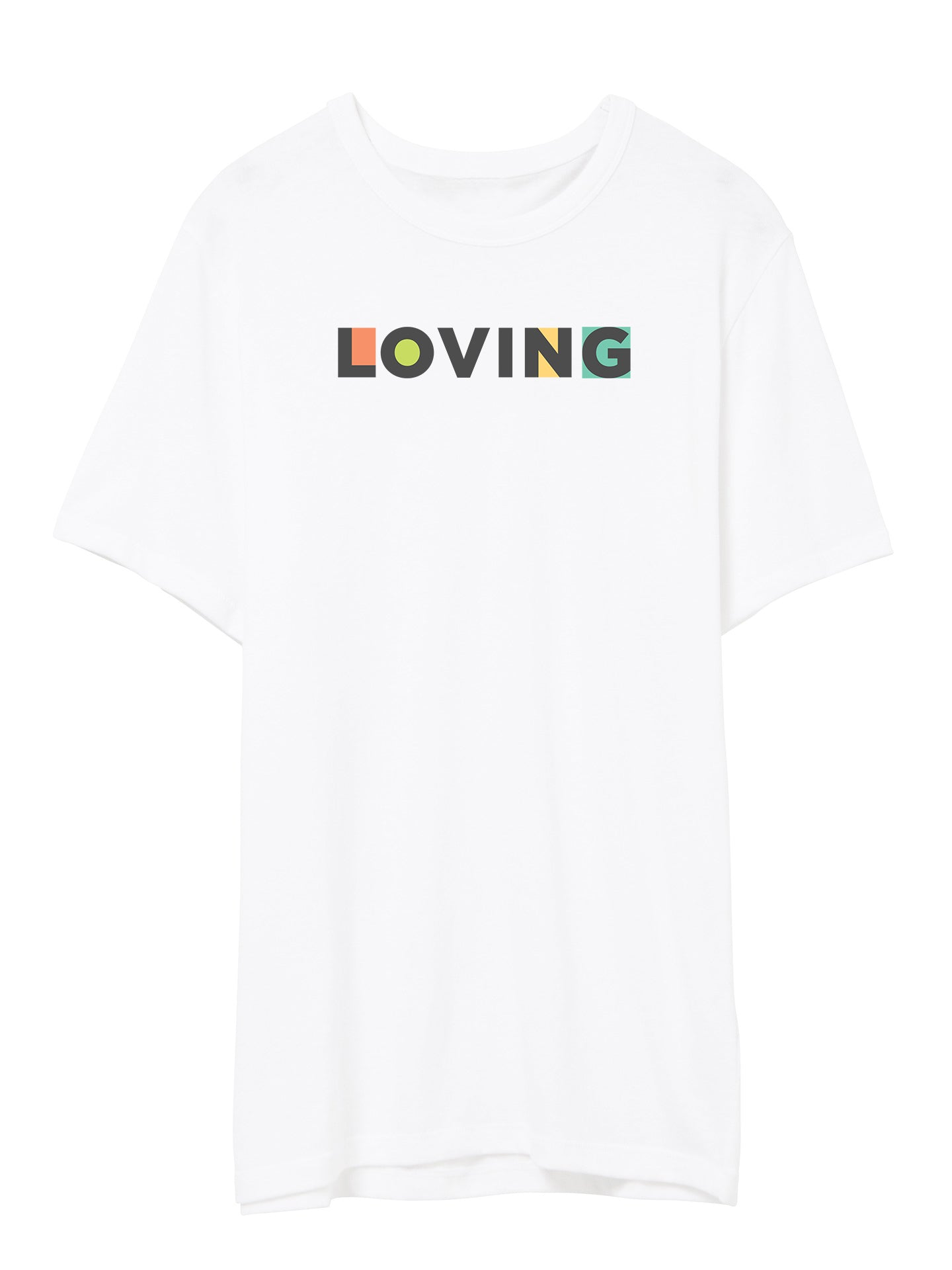 The Power of Words - Men's Tee - LOVING