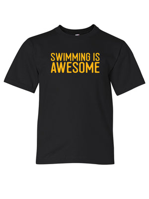 Swimming is Awesome - Youth Tee