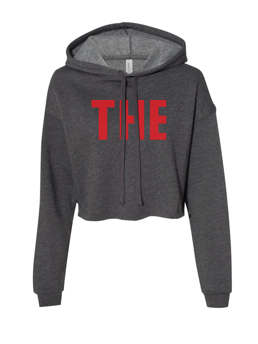 THE - Women's Cropped Hoodie
